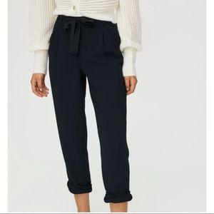 ARITZIA WILFRED allant pant navy blue dress pants